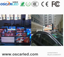 wholesale alibaba express wireless moving taxi top led screen advertising signs