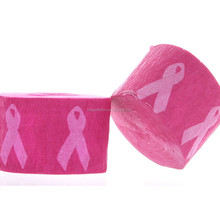 Breast Cancer Awareness Streamer Pink Ribbon Crepe Paper Party (2 rolls)
