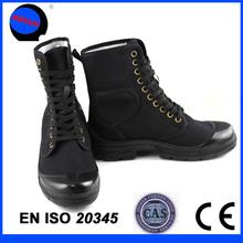 Cheap military canvas boots