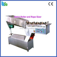 High quality hard candy batch roller and rope sizer machine