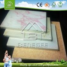 gypsum ceiling tiles 600x600 /laminated gypsum ceiling /pvc 60x60 gypsum ceiling tiles