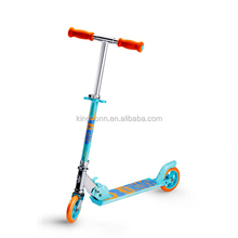 2015 hot sale China 2 wheel foldable and adjustable kick scooter with T-bar