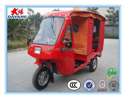 china chongqing best sellingpetrol open passenger three wheel tricycle