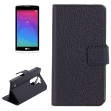Top quality Litchi Texture Horizontal phone case for LG Leon C40