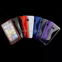 2015 new products s line gel TPU Soft Back Cover phone case cover for microsoft lumia 540 made in china