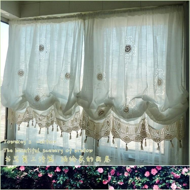 Balloon style curtains