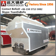 DZ Single Drum Hand Feed Coal Fired 1000kg 2000kg 4000kg Hot water boiler