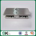 180 grau 304 conector de vidro de vidro da braçadeira