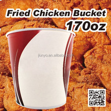 Disposable paper bucket paper food bucket fried chicken bucket