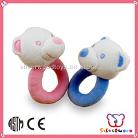 baby infant ring rattle toys plushby SEDEX audit factory