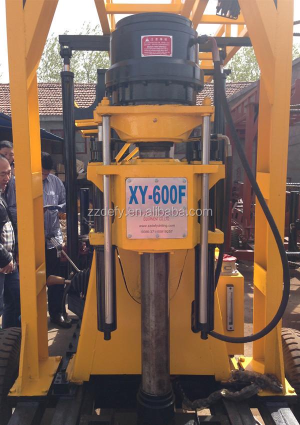 300 м - 600 м портативный б скважины колодец буровая установка машина для продажи