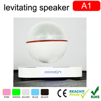 Alibaba in China bluetooth wireless home theater magnetic levitation speaker for new gadgets 2015