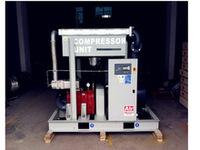 75kW 100HP oil free&ordinary pressure screw air compressor, 0.7Mpa,7bar,12.5m3/min