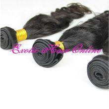 Exotichair queens hair product brazilian virgin 4pcs 100% human queen love hair