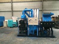 scrap radiator shredder copper wire grinding recycling machine
