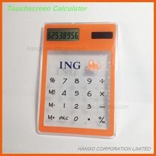 Cheap Mini Promotional Pocket Transparent Solar Calculator