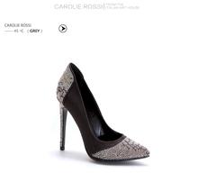 2015 del alto talón zapatos de vestir para la mujer