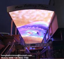 Indoor/Outdoor led strip commercial advertising display screen