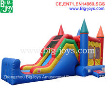 professional manufacture jumping castles inflatables,blower approved inflatable jumping castle, commercial bouncer combo games