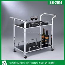 2015 Traditional living room furniture black tea hand trolley