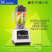 Légume sain Blender robot mélangeur commerciale HAIPAN Apple extracteur de jus avec CECB