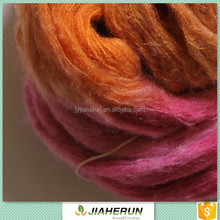 Mohair like fancy yarn