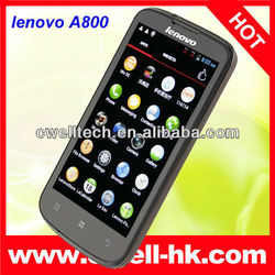 MTK6577 Dual Core lenovo phone with 4.5 inch IPS Touch Screen Dual SIM Card