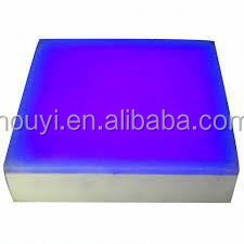 Strong R&D manufacturer professional customized services led glass brick for unique needs