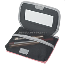 new designer cosmetic toilet bag with mirror