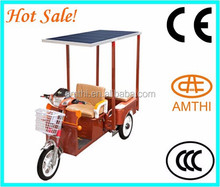 Cargo Electric Solar Panel Rickshaw For Goods,Battery Operated Tricycle,Electric Tricycle Bus,Amthi