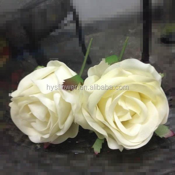Rose Head Artificial Flower Centerpieces For Wedding Artificial Flower