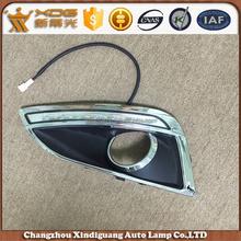 daytime running light drl auto led fog light case for ix 35 tucson 11