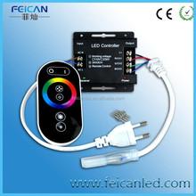AC 110/220V Wireless LED Controller RF LED RGB Remote Controller for RGB 110v led strip