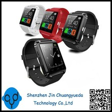 2015 Wholesale Cheap u8 Bluetooth Smart Watch For Android Samsung HTC LG Sony White Red Black