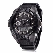 YX9025 China Made Wholesale Digital&Quartz Double Clock Watches