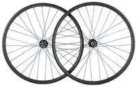29ER Disc Brake Carbon MTB Bike Wheelset 25mm Depth 35mm Width Carbon Wheels Mountain Bike Carbon Wheel 28/28Holes Hookless