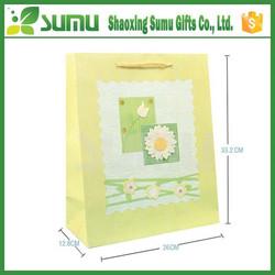 Wholesale 3D printed Cute art paper bag