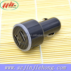 Professional universal 5V 2A dual car charger manufacturer