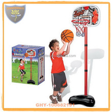 Outdoor high quality basketball stands for kids with inflatable ball
