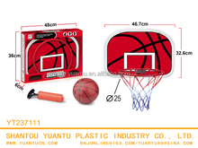 Plastic funny toy children sport play set basketball set for kids