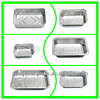 Best-selling of the High Quality Disposable Aluminum Foil Airline Container For Food Packing,Storage