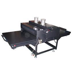 Automatic Pneumatic Double working table Heat Press Machine
