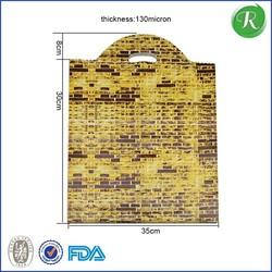 New design most popular plastic shopping bag factory