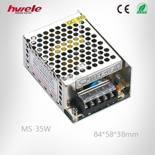 MS-35W 12V ac invert dc mini LED power converter with SGS,CE,ROHS,TUV,KC,CCC certification
