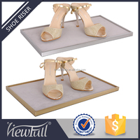 Latest well design high quality metal shoes display stand
