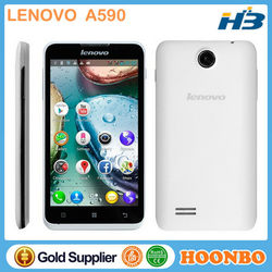 Cheap Mobile Phone With Skype Lenovo A590 Cheap Phone Made In China Dual Core GPS Dual Sim 512 RAM 4GB ROM Android Cell Phone