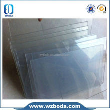 A4 clear pvc sheet for pvc binding cover