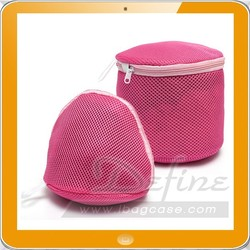 rose colour bra underwear wash bag use in laundry