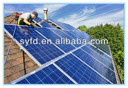 Hot SALE !230W/240W/250W/260W High efficiency Mono/Poly Solar Panel cheap price make in china for India market
