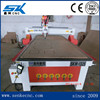 SKW-1325V cnc wood carving machine 3 axis cnc milling machine with competitive price for sale